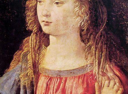 Leonardo da Vinci – Annunciazione