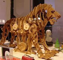 Leonardo e il leone meccanico