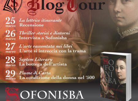 BlogTour: Sofonisba. I ritratti dell'anima di Chiara Montani – La bottega dell'artista