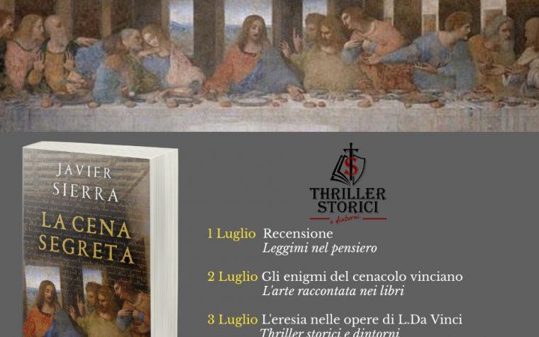 #Blogtour: La cena segreta di Javier Sierra. Il neoplatonismo nel Rinascimento