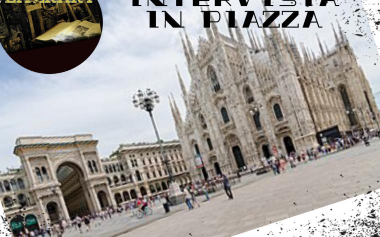 Intervista in piazza. Le domande ai lettori – 28/06/2019