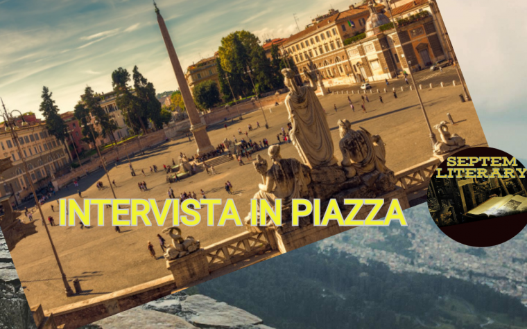 #intervista in piazza del 19/07/19