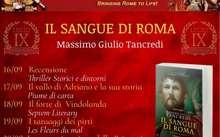 #blogtour-tsd: Il sangue di Roma – Massimo Giulio Trancredi