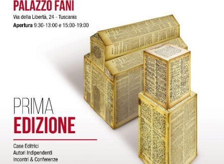 Tuscanialibri. Salone libro editori. Palazzo Fani 1-3 novembre 2019. Prima edizione