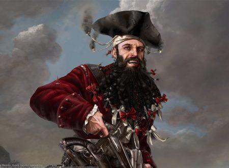La testa mozzata del pirata Barbanera