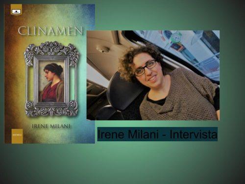 Clinamen di Irene Milani – Intervista all'autrice