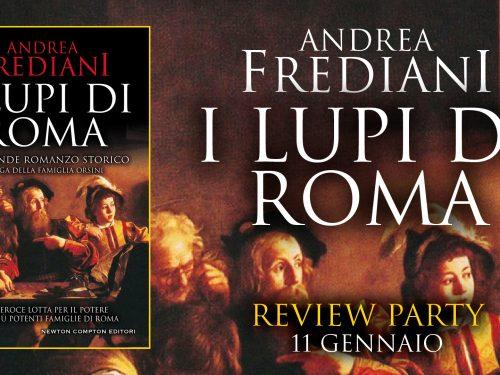 I lupi di Roma- Andrea Frediani – #reviewparty