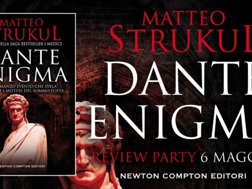 Dante Enigma di Matteo Strukul #reviewparty